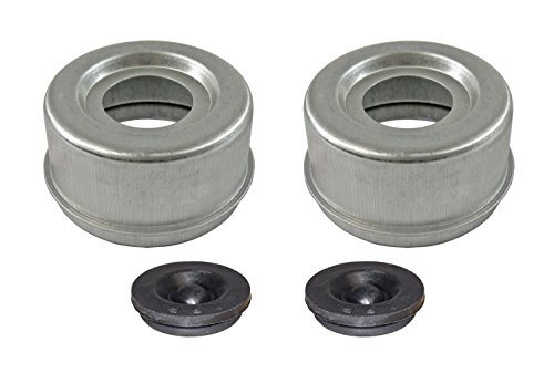 E-Z Lube Grease Caps With Rubber Plugs - Pair - Hub Pr