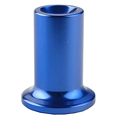 Dewhel Drift Emergency Knob Hand E Brake Spin Turn Knob Lock Button Aluminum JDM For Subaru BRZ Toyota 86 GT86 Scion FRS (Blue): Automotive