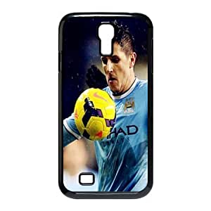Soccer Barcelona Lionel Andr¡§|s Messi Football Club Classic Design Print Black Case With Hard Shell Cover for SamSung Galaxy S4 I9500
