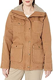 Carhartt Womens Women's Weathered Duck Wesley Coat Outer