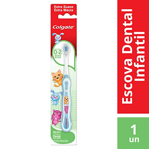 Escova Dental Colgate My First Sem Flúor 1unid