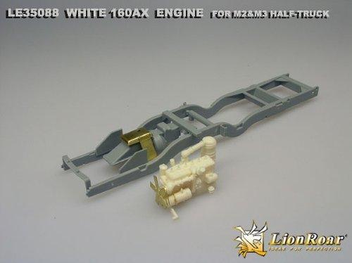ピットロード 1/35 アメリカ陸軍 M2/M2A1ハーフトラック用エンジン LE3588
