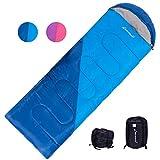 Clostnature Lightweight Backpacking Sleeping Bag - All Weather Waterproof Campin