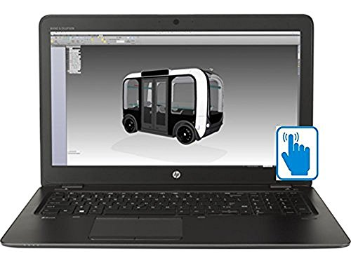 HP ZBook 15U G4 Ultrabook Mobile WorkStation with 15.6 inch Full HD Touchscreen (Intel i7 Processor, 15.6 inch FHD (1920x1080) Touch, 32GB RAM, 500GB HDD + 128GB SSD, Win 10 Pro)