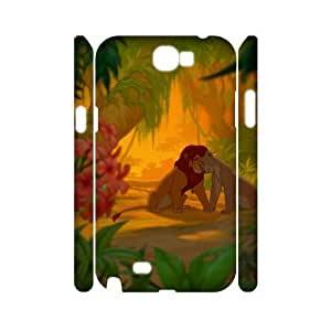 PCSTORE Phone Case Of Lion King For Samsung Galaxy Note 2 N7100