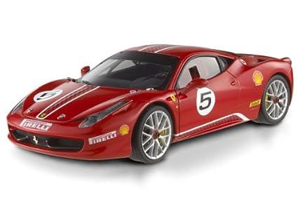 Amazoncom Ferrari 458 Challenge 5 Model Car In 118 Scale