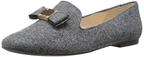 Cole Haan Women's TALI Bow Loafer Gray Flannel
