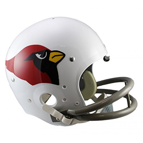 2004 Authentic Throwback Helmet - Riddell NFL Arizona Cardinals 1960-2004 Throwback Replica TK Suspension Full Size Football Helmet
