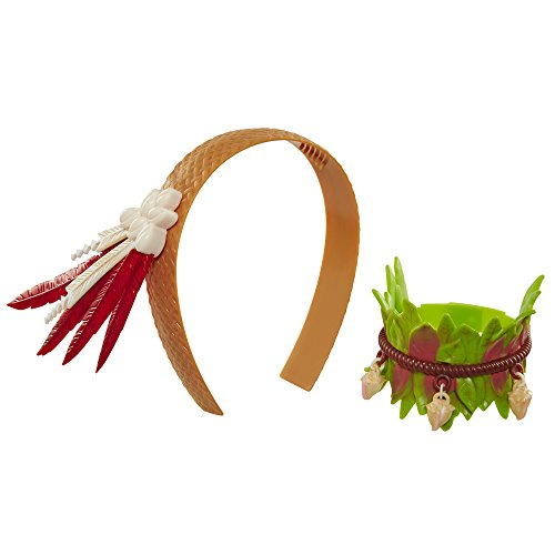 [Disney Moana Accessory Set] (South Pacific Costumes)