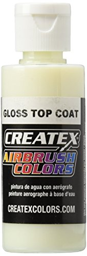 3M Createx Airbrush Top Coat Gloss 2oz (5604-02) Createx Gloss Top Coat