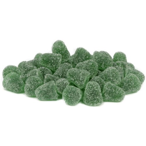 CCI Menthol Groentjes 1000g - Sugared fruit gum with eucalyptus and menthol