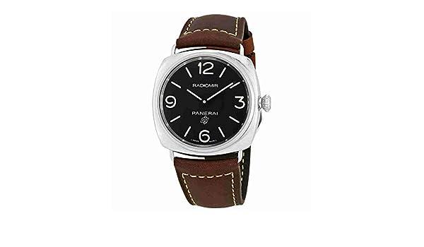 Amazon Com Panerai Radiomir Brown Leather Mens Watch Pam00753 Watches