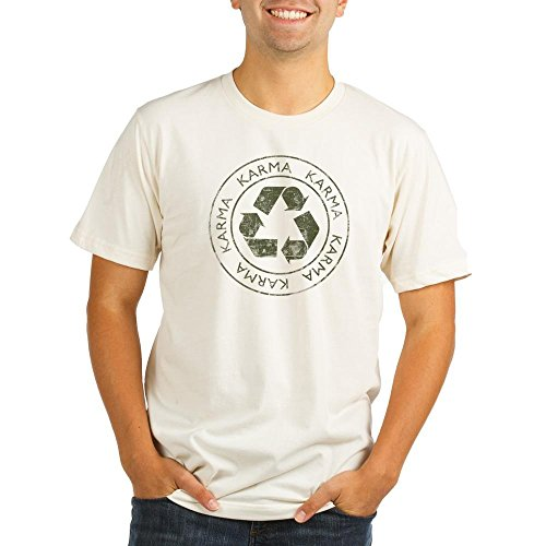[CafePress - Vintage Karma Organic Men's Fitted T-Shirt - Organic Men's Fitted T-Shirt, Cotton Vintage Cut Tee] (Buddha Fitted T-shirt)
