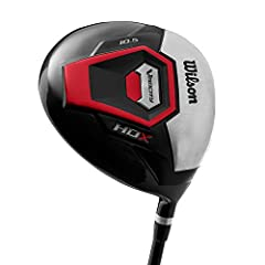 Wilson Velocity HDX Mens Driver for your next trip to the course. This right-handed driver is designed to react to dynamic swing characteristics, which helps produce better results for all players. With performance technology and lightweight ...