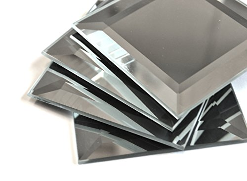 3x3 Wide Beveled Mirror Tile