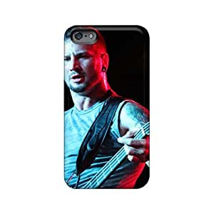 Shock-Absorbing Hard Phone Cases For Iphone 6plus With Custom Attractive Green Day Pictures CharlesPoirier
