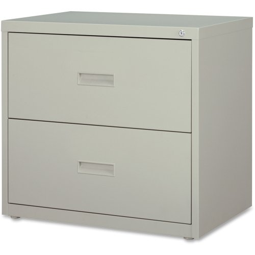 Lorell 2-Drawer Lateral File, 30 by 18-5/8 by 28-1/8-Inch, Light Gray by Lorell