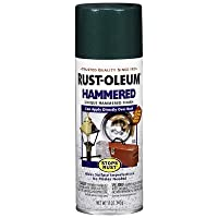 Rustoleum 7211-830 Deep Green Hammered Enamel Aerosol Spray Paint - Pack of 6 by Rustoleum