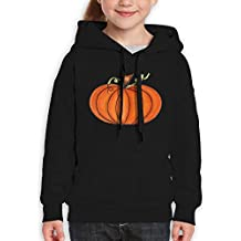 Gakivcdf Lovely Cartoon Yellow Pumpkin Unisex Teenagers Hooded Sweater Infant Cotton Hoodies