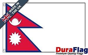 duraflag® Nepal bandera de calidad profesional (puerta y Cambiadas)