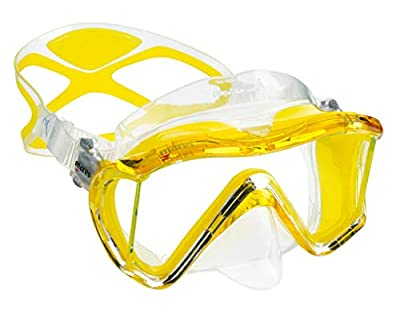 Mares Scuba Snorkel Set, i3 Liquidskin Mask and Semi Dry Snorkel | Great for Scuba Diving, Snorkeling, Surfing and Freediving