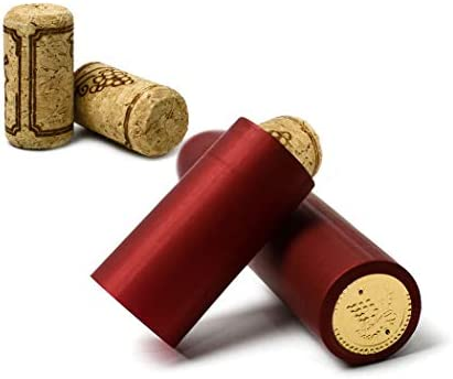 396aa97e4598 4 Pcs Hand Corker Set, For Standard Wine, Belgian Beer, and Synthetic  Plastic Corks, Free gift 20Pcs Wine Cork and 20Pcs Red Pvc Heat Shrink Caps  ...