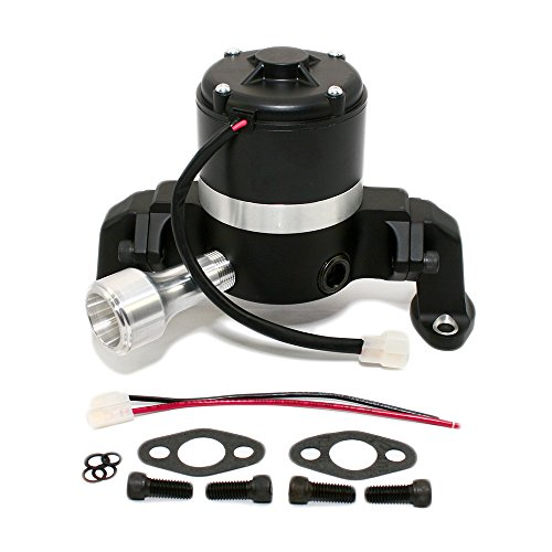Assault Racing Products 6045402 Black Billet Aluminum Big Block Chevy BBC 396 427 454 Electric Water Pump -