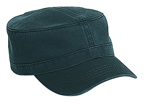 (Superior Garment Washed Cotton Twill Military Style Caps)