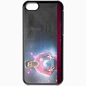 Personalized iPhone 5C Cell phone Case/Cover Skin Bj Portugal Football Federation Cristiano Ronaldo Manchester United Real Madrid Football Black