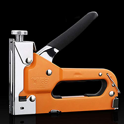 HAZEGACC - Manual Nailing Machine Straight Nail Shooter Woodworking 3 in 1 Type U T Shape Staple Pusher by HAZEGACC (Image #2)
