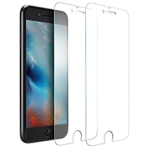 """iPhone 8, 7, 6S, 6 Tempered Glass Screen Protector for Apple iPhone [4.7""""inch]"""