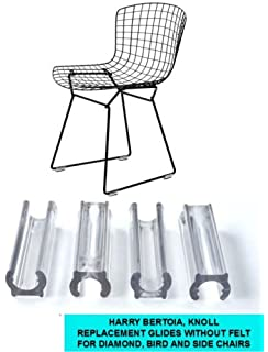 Bird and Side Chair GlidesSet of 4 Bertoia Diamond