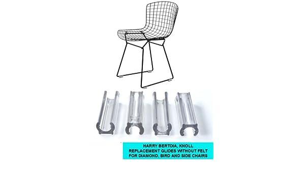 amazon com glides for harry bertoia chair diamond bird side