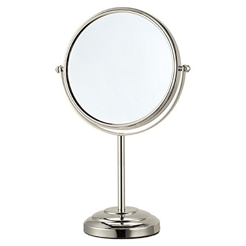 Glimmer Nameeks AR7724-SNI-3x Free Standing Makeup Mirror, 8'' L x 8'' W by Glimmer