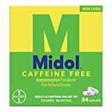 Midol Caffeine Free Menstrual Pain Relief Caplets