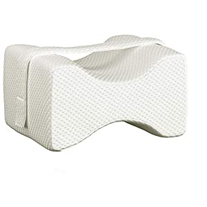 Mahaveer Cotton Orthopedic Memory Foam Pillow for Knee, Sciatica Relief, Back Pain, Leg Pain, Pregnancy, Hip and Joint…