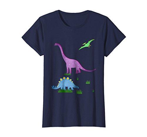 Womens Dinosaur T-Shirt for Children and Adults. Brachiosaurus