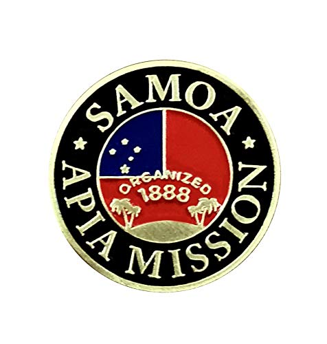 (Bennett Brands LDS Samoa Apia Mission Commemorative Lapel Pin)