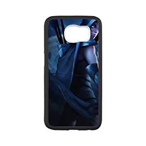 Samsung Galaxy S6 Cell Phone Case White Defense Of The Ancients Dota 2 DROW RANGER 003 PD5306179