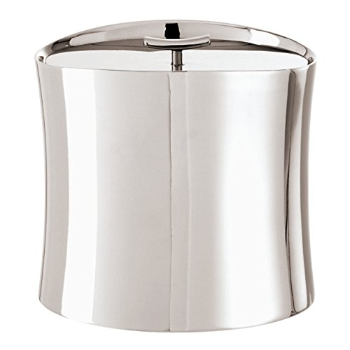 Sambonet Bamboo Insulated Ice Bucket Holloware Stainless Steel - 5.6