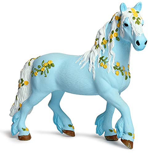 - Kolobok - Magic Horse Toy - Wild Animals Action Figures - Blue