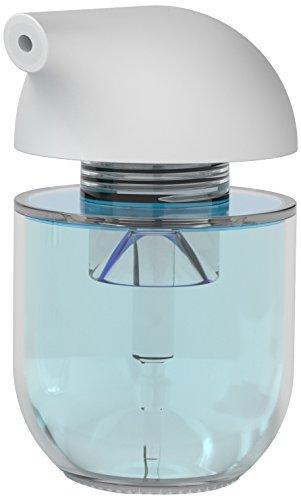 """Siliconezone Karim Collection 5.6"""" Silicone Soap Dispenser, White"""