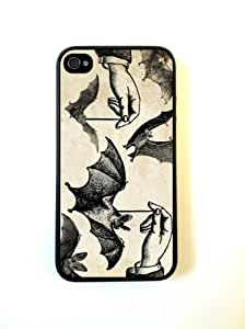 Dangling Bats Halloween iPhone 4 Case - For iPhone 4 4S 4G - Designer TPU Case Verizon AT&T Sprint