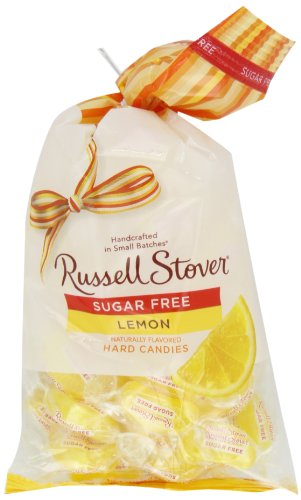 Russell Stover Sugar Free Lemon Hard Candies, 12-Ounce Bags (Pack of 3)