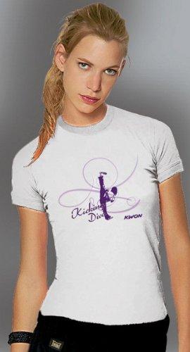 KWON Designer Ladies T-Shirts Diva XS weiß