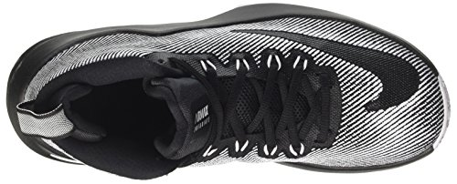 Basketball NIKE Mid Black Infuriate Black Shoes Men Black Max Air 's White wXwYqH