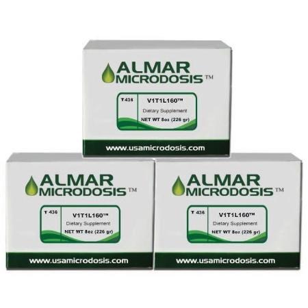 V1T1L160 - 3 Month Vitiligo Treatment by Microdose- Tratamiento Vitiligo 3 Meses by ALMAR MICRODOSIS
