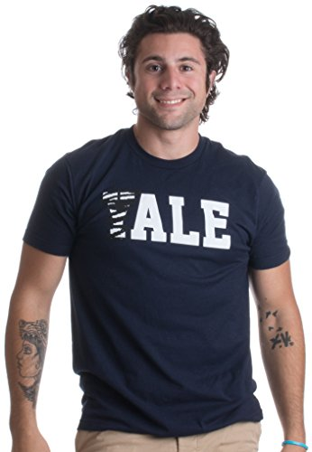 ALE | Funny Beer Drinker, Home Brewer Collegiate Drinking Humor Unisex T-shirt