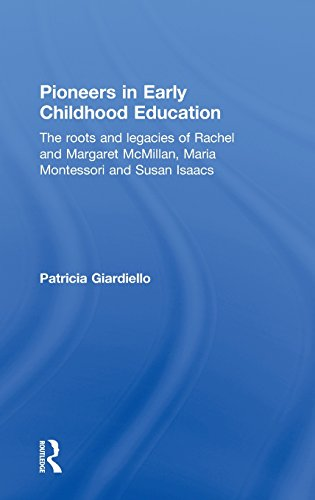 Pioneers in Early Childhood Education: The roots and legacies of Rachel and Margaret McMillan, Maria Montessori and Susa