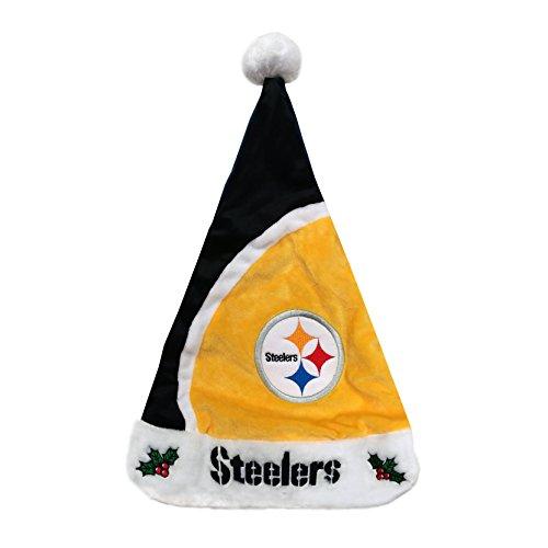 NFL Pittsburgh Steelers Basic Santa Hat